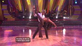 Brooke Burke & Derek Hough - Cha-Cha-Cha
