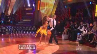Brooke Burke & Derek Hough - Samba
