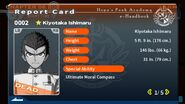 Kiyotaka Ishimaru's Report Card (Deceased)