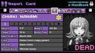 Chiaki Nanami's Report Card (Deceased)
