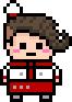 Danganronpa V3 Bonus Mode Teruteru Hanamura Pixel Icon (1)