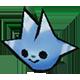 Danganronpa 2 Magical Monomi Minigame Enemies Type 02 Blue
