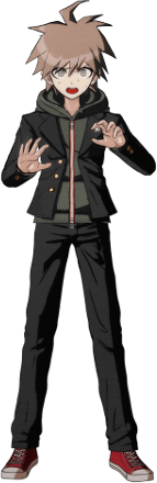 File:Danganronpa 1 Makoto Naegi Sprite (PSP) 03.png