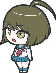 File:Danganronpa Another Episode Komaru Naegi Chibi 10.png