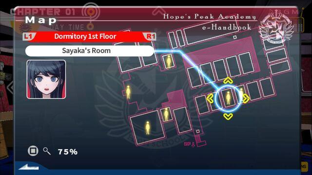 File:Danganronpa 1 FTE Guide Locations 1.1 Sayaka.jpg