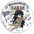 GraffArt Can Badge Gonta Gokuhara