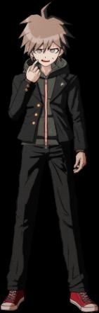 File:Danganronpa 1 Makoto Naegi Sprite (PSP) 12.png