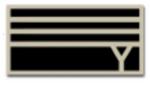 Nekomaru Nidai Symbol (Former School) Y Pin