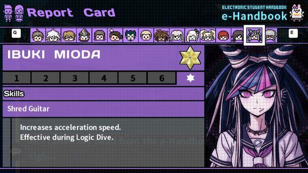 Ibuki Mioda's Report Card Page 7