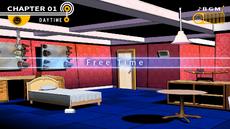Danganronpa 1 Free Time Makoto's Room