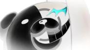 Dangaronpa - The Animation - OP Monokuma in Negative