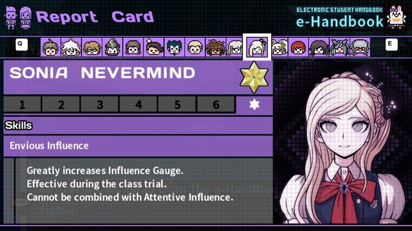 Sonia Nevermind's Report Card Page 7