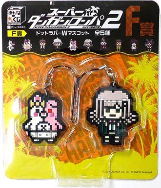 File:FuRyu Minna no Kuji Dot Rubber Mascots Monomi and Chiaki Nanami.jpg