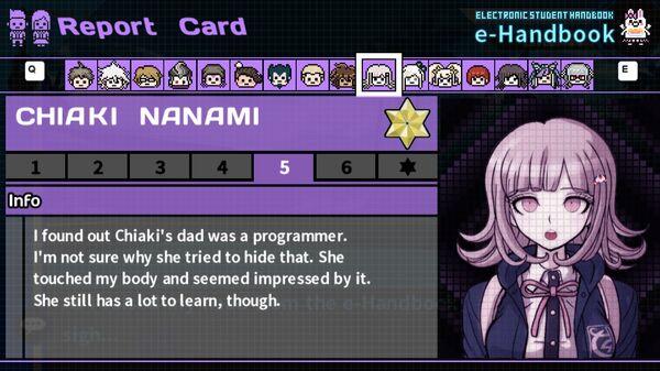 Chiaki Nanami's Report Card Page 5