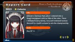 Celestia Ludenberg Report Card Page 5
