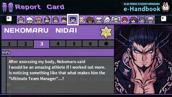 Nekomaru Nidai's Report Card Page 3