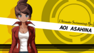 Danganronpa 1 Aoi Asahina English Game Introduction
