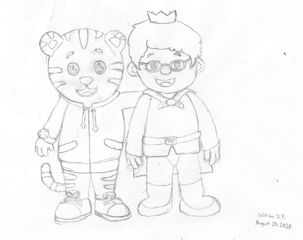 File:Daniel Tiger and Prince Wednesday Drawing editted.png