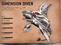 Dimension diver
