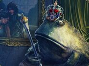 Tsp-frog-prince-statue-and-painting