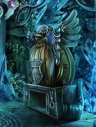 Fl cloak statue