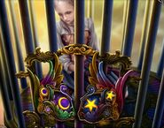 Gerda caged