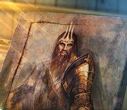 King portrait canvas