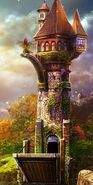 Monster flower tower