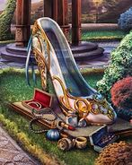 Garden glass slipper