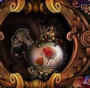 Thorned rose orb bor