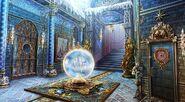 Snow palace foyer