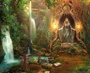 Goddess Flora Shrine