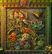 Thumbelina mural
