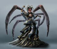 Spider witch concept