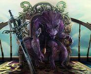 Wolf king body