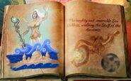 Sea goddess staff ancients