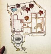Frozen lair map