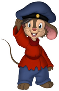 Fievel Mousekewitz as Toulouse