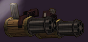 Machine Gun Arm