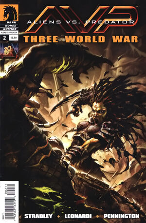 Aliens vs Predator Three World War Vol 1 2