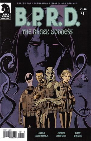 BPRD The Black Goddess Vol 1 1