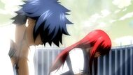 Erza and Gray return to normal