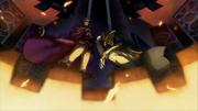 Hazama and Relius