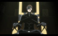Aizen during his sentence
