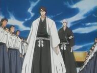 Captain Aizen and Lieutenant Ichimaru