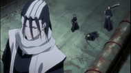 The Real Renji and Byakuya save Ichigo Kurosaki and Rukia Kuchiki