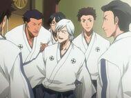 Ukitake in academy