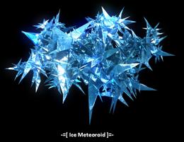 Ice Meteoroids