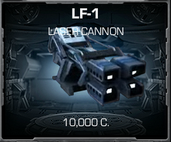 LF-1 Laser Cannon