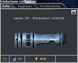 Endurium Collector